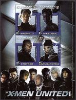 St Vincent 2003 X-Men Magneto Souvenir Sheet Unmounted Mint. - St.Vincent & Grenadines
