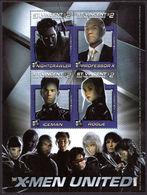 St Vincent 2003 X-Men Nightcrawler Souvenir Sheet Unmounted Mint. - St.Vincent & Grenadines