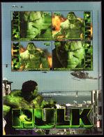 St Vincent 2003 The Hulk 1st Souvenir Sheet Unmounted Mint. - St.Vincent & Grenadines