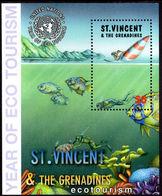 St Vincent 2002 Eco-tourism Souvenir Sheet Unmounted Mint. - St.Vincent & Grenadines