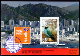 Trinidad & Tobago 1997 Hong Kong 97 Souvenir Sheet Unmounted Mint. - Tristan Da Cunha