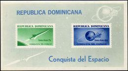 Dominican Republic 1964 Conquest Of Space Souvenir Sheet Unmounted Mint. - Dominican Republic