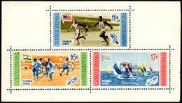 Dominican Republic  1959  Geophysical Year Air Souvenir Sheet Unmounted Mint. - Dominican Republic