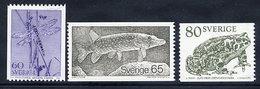 SWEDEN 1979 Fauna  MNH / **.  Michel 1075-77 - Sweden