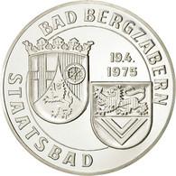 Allemagne, Médaille, Bad Bergzabern, 100 Jahre Kurort, 1975, SPL, Argent - Allemagne