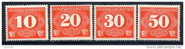 GENERAL GOVERNMENT  1940 Delivery Stamps Set  Of 4 MNH / **.  Michel 1-4 - 1939-44: World War Two