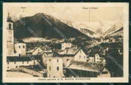 Verbania Santa Maria Maggiore Valle Vigezzo Pioda Di Crana Cartolina RT1263 - Verbania