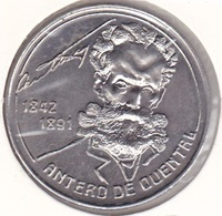 Azores - 100 Escudos (100$00) 1991 - Antero Quental -UNC - Azores