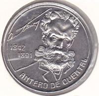 Azores - 100 Escudos (100$00) 1991 - Antero Quental -UNC - Açores