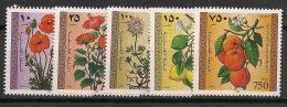 Palestine - 1996 - N°Yv. 53 à 57 - Fleurs - Neuf Luxe ** / MNH / Postfrisch - Palestine