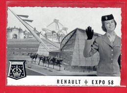BELGIQUE-CPSM BRUXELLES - RENAULT EXPO 1958 - België