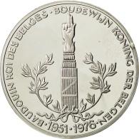 Belgique, Médaille, Baudouin, Roi Des Belges, FDC, Argent - Belgique