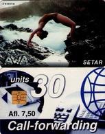 TARJETA TELEFONICA DE ARUBA. SETAR-106B, AWA 09.97 (021) - Aruba