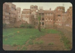 Yemen Picture Postcard District Of The Old City Of Sana'a View Card - Yemen