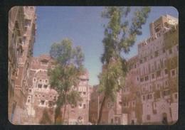Yemen Picture Postcard Traditional Buildings Sana'a View Card - Yemen