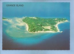 """Grande Island (Philippines) 2 Scans (au Verso Manuscrit """"présence Américaine Insupportable"""") - Philippines"""