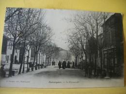 L9 7562. RARE CLICHE CPA 1907 - 34 PUISSERGUIER. LA PROMENADE. EDIT. E. PROUZET PUISSERGUIER - ANIMATION. - France