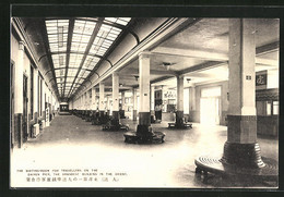 CPA Dairen, The Waiting-Room For Travellers On The Pier - Chine
