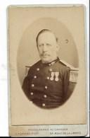 Photo De Pompier , Avec Décorations  - Très Bon état ( Voir Scan) - Guerre, Militaire
