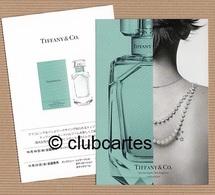 CC Carte Parfumée 'TIFFANY' Perfume Card JAPAN - Modern (from 1961)