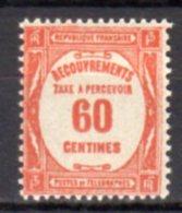 France Taxe N° 58 Luxe ** - Portomarken