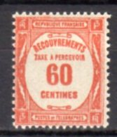 France Taxe N° 58 Luxe ** - 1859-1955 Nuevos