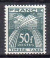 France Taxe N°  88 Luxe ** - Taxes