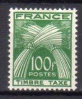 France Taxe N°  89 Luxe ** - Taxes