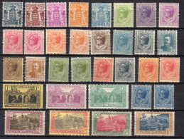 Monaco N° 73 / 103 Luxe ** - Unused Stamps
