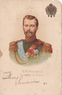 RUSSIE  S.M. Nicolas II Empereur De Russie - Rusland
