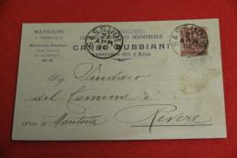 Sassuolo Modena Ditta Carlo Rubbiani Stabilimento Ceramico 1900 - Italia