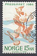 NORGE - 1986 - Yvert 914, Usato, Come Da Immagine. - Norvège