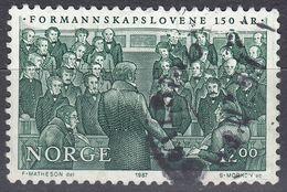 NORGE - 1987 - Yvert 923, Usato, Come Da Immagine. - Norwegen
