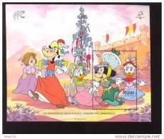 #  601-1  MINT NEVER HINGED SOUVENIR SHEET OF DISNEY   (  BEQUIA   276 - Disney