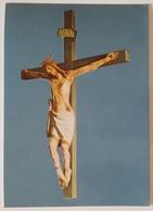 CROCIFISSO LIGNEO SECOLO XIV - Monastero Benedettine San Marco Offida (Ascoli Piceno) - Crucifix  Nv - Quadri, Vetrate E Statue