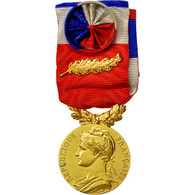 France, Ministère Du Travail Et De La Sécurité Sociale, Médaille, 1963 - Army & War