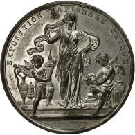 Suisse, Médaille, Exposition Nationale Suisse, Zurich, 1883, Jäckle, TTB+ - Other