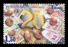 Bosnia And Herzegovina 2018 Mih. 736 National Currency Convertible Mark. Coins. Banknotes MNH ** - Bosnia Herzegovina