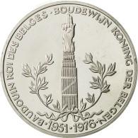 Belgique, Médaille, Baudouin, Roi Des Belges, SPL+, Argent - Autres
