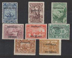 R430.-. MADEIRA.1911 . SC#: 199-206 -  MNG . VASCO DA GAMA ISSUE -  SCV: US$ 136.00 - Madère
