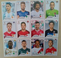 2018 FIFA World Cup 12 Different Panini Stickers New - English Edition