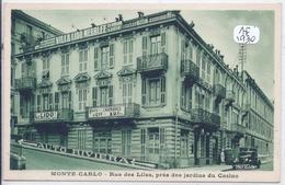 MONTE-CARLO- LE LIDO- RUE DES LILAS- PRES DU JARDIN DU CASINO - Monte-Carlo