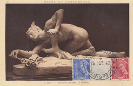 Carte  Maximum  FRANCE   MERCURE    Salon  De  La  Philatélie    PARIS   1942 - 1940-49