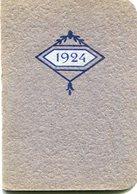 CALENDRIER 1924 - Petit Format : 1921-40