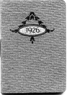 CALENDRIER 1926 - Petit Format : 1921-40