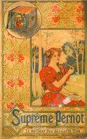 CALENDRIER 1897(PUBLICITE PERNOT) - Petit Format : ...-1900