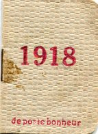 CALENDRIER 1918 - Calendars