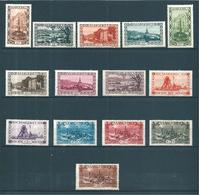 Colonie Sarre Occupation Francaise Timbres De 1927   N°107 A 120  Complet  Neufs *cote55€ - 1947-56 Occupazione Alleata