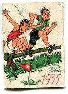 CALENDRIER 1935 - Petit Format : 1921-40