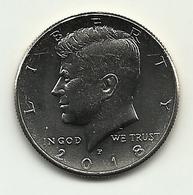 2018 - Stati Uniti 50 Cents - Kennedy, - 1964-…: Kennedy